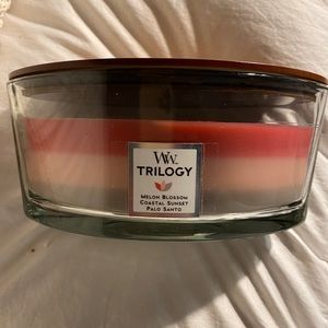 Yankee Woodwick Shoreline Trilogy Candle
